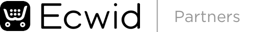 Ecwid Partners Logo - Black